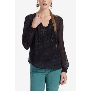 Anthropologie Spun Meteoroid Blouse